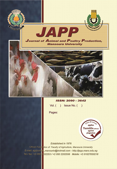 Journal of Animal and Poultry Production